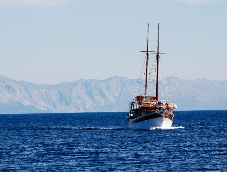 Rejs statkiem, Chorwacja